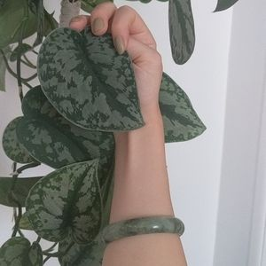 Vintage Pure Jade Bangle